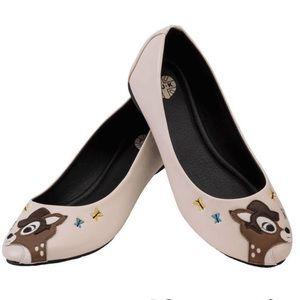 TUK Cute Cream Deer Ballet Flats 7